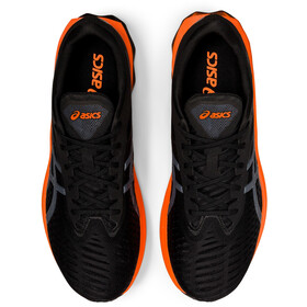 asics Novablast Schoenen Heren, black/marigold orange